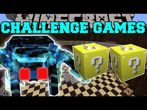 Minecraft: TARANTULA BROOD MOTHER CHALLENGE GAMES - Lucky Block Mod - Modded Mini-Game