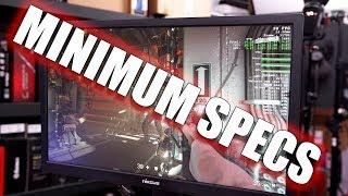 Gaming on Minimum Hardware Specs - Wolfenstein II The New Colossus