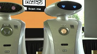 Rapping robots in Singapore   AFP