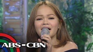 "UKG: Tawag ng Tanghalan Grand Finalist Janine Berdin sings ""Narda"""
