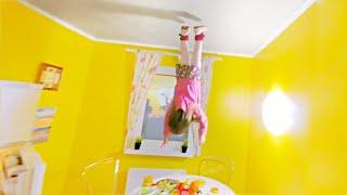 Дом Вверх Дном Перевернутыи дом на Арбате Видео для детеи