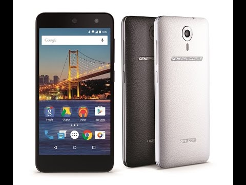 General Mobile Android One Hard Reset and Forgot Password Recovery, Factory Reset