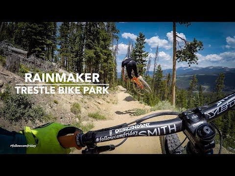 Chainless Lap of Rainmaker   Trestle Bike Park DH
