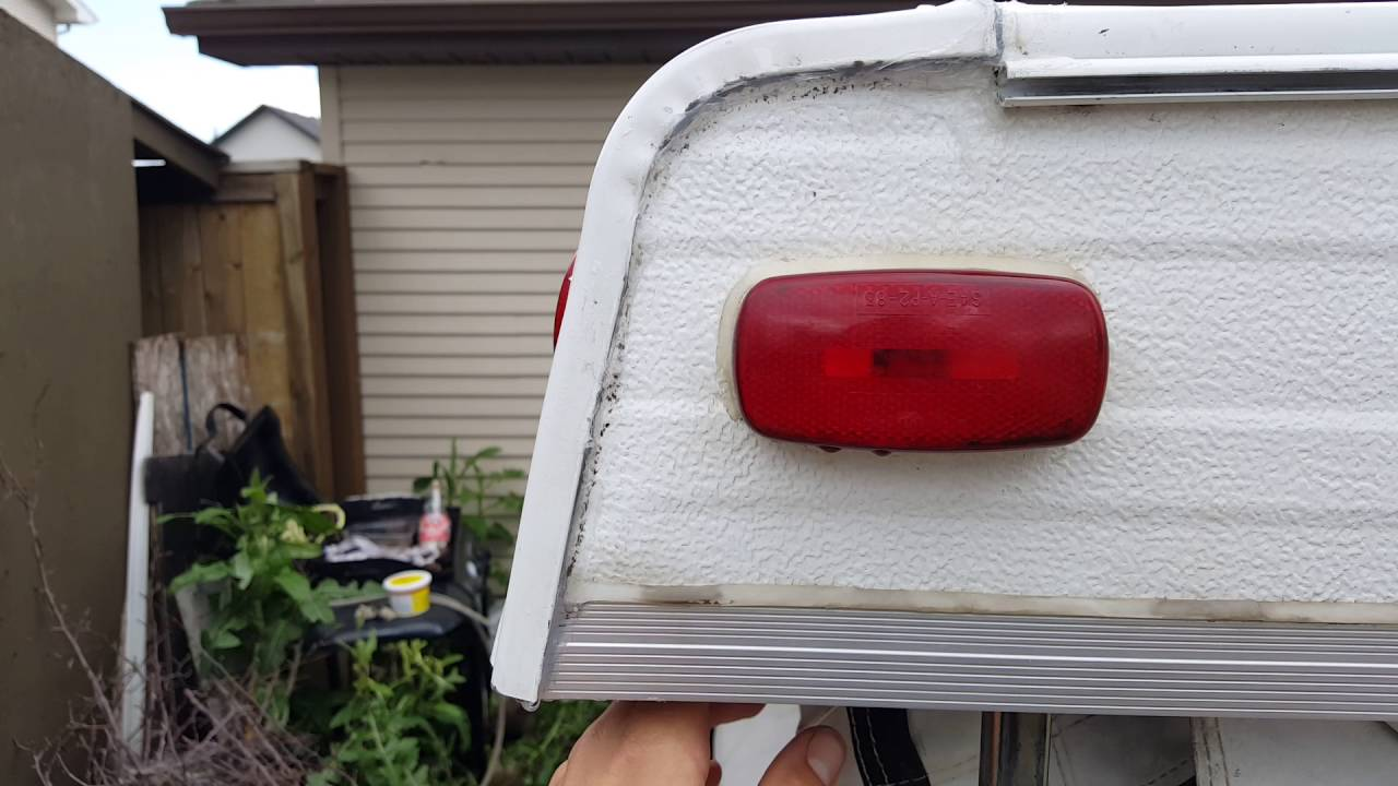 Lovely Pop Up Camper Back Roof Board Replacement