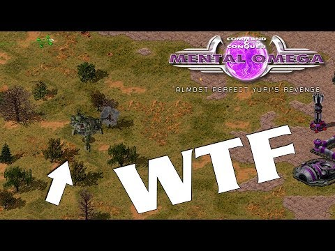Mental Omega - Discovering Factions CHINA ( Command & Conquer )