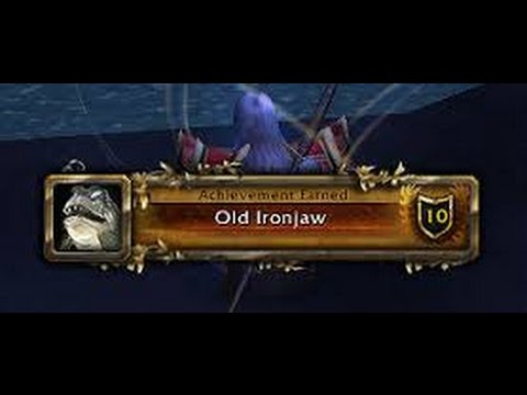 WoW: Fishing Story. Ironjaw, The 1 Ring And RNG In WoW