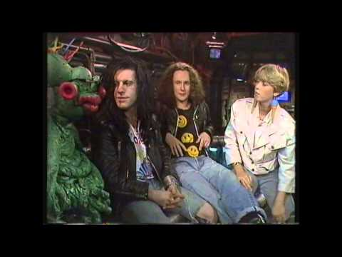 The Wonderstuff Interview 1988 with Gilbert The Alien (Get Fresh)