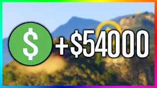GTA 5 Online Fast & Easy Money - How To Make $54,000 in Under 4 Minutes! (GTA 5 Time Trial)
