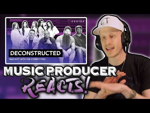 Music Producer Reacts to Red Velvet 'BAD BOY' (GENIUS DECONSTRUCTED)