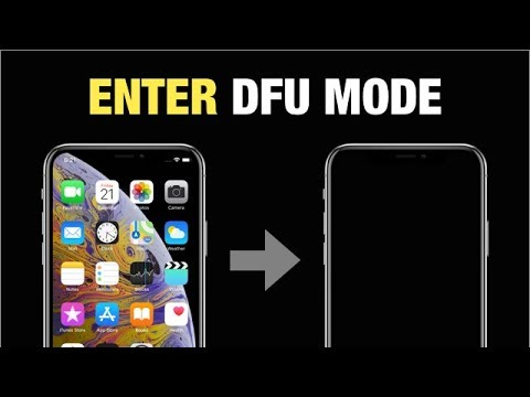 How to Enter iPhone X, XS DFU Mode? (Works For iPhone 8 / 8 Plus Too!)