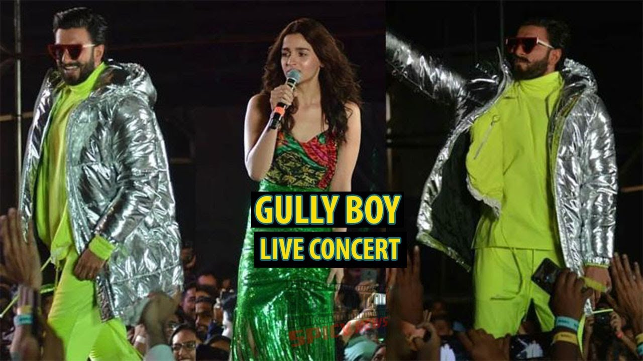 GullyBoy Live Concert | Ranveer Singh, Naezy, Divine | Gully Boy Full Album Launch