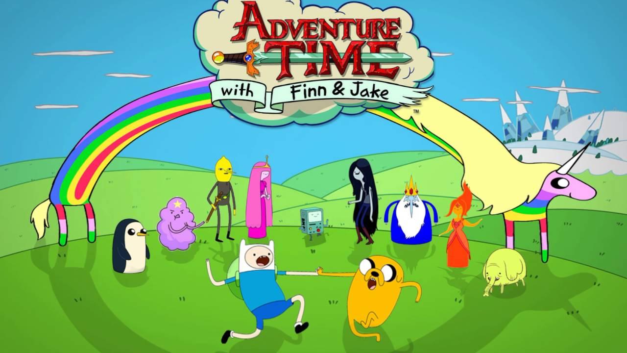 Adventure Time / Lake - Christmas Island / Island Song - All ...