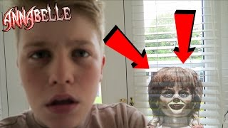 ANNABELLE DOLL CAME TO MY HOUSE AND BROKE MY WINDOW!! SO CREEPY!!