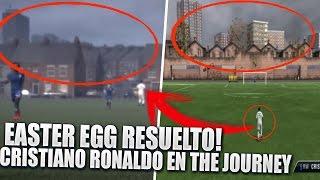 EASTER EGG CRISTIANO RONALDO EN THE JOURNEY RESUELTO !!!   REFERENCIA A FIFA 11