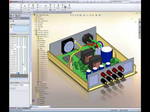 Flow Simulation For The Design Engineer Analyzes Cooling Components
