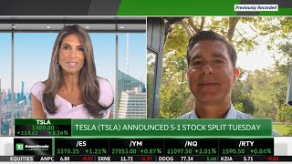Elon musk listens to his shareholders. more investors want buy tesla, but the stock was so high, it difficult. ceo ross gerber believes this is a grea...