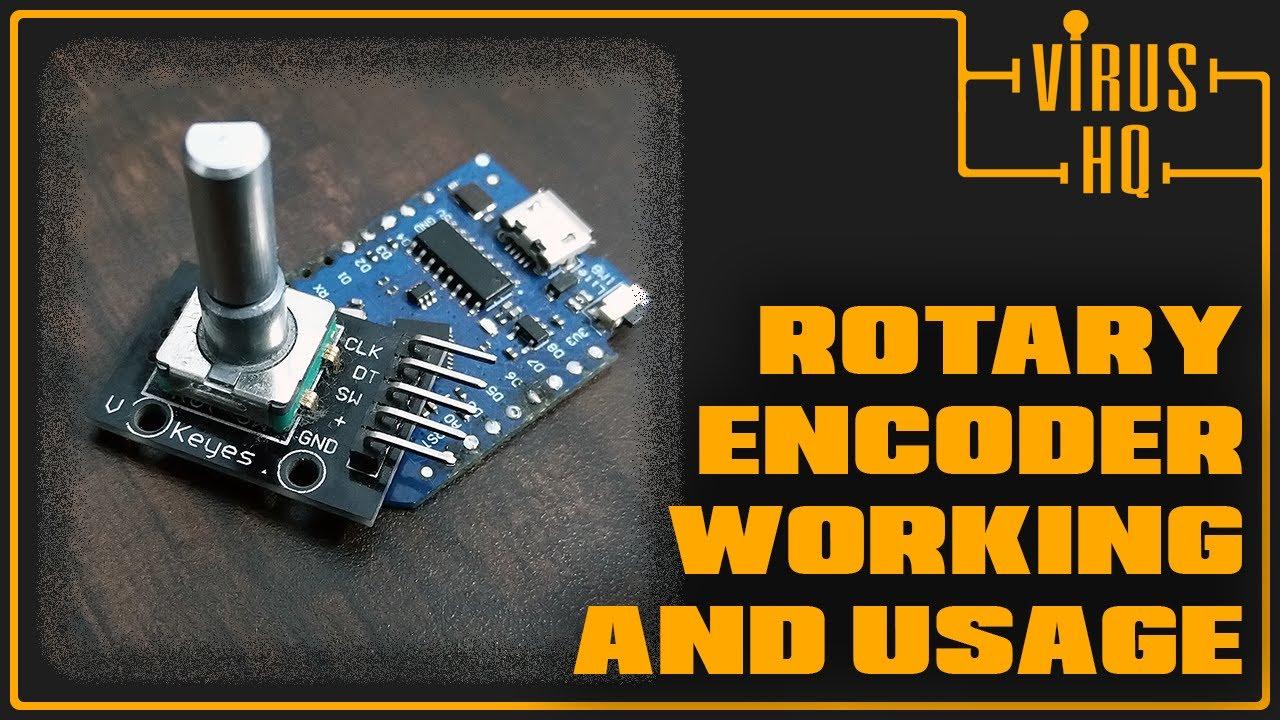 Rotary Encoder Working with Wemos D1 Mini | NodeMCU