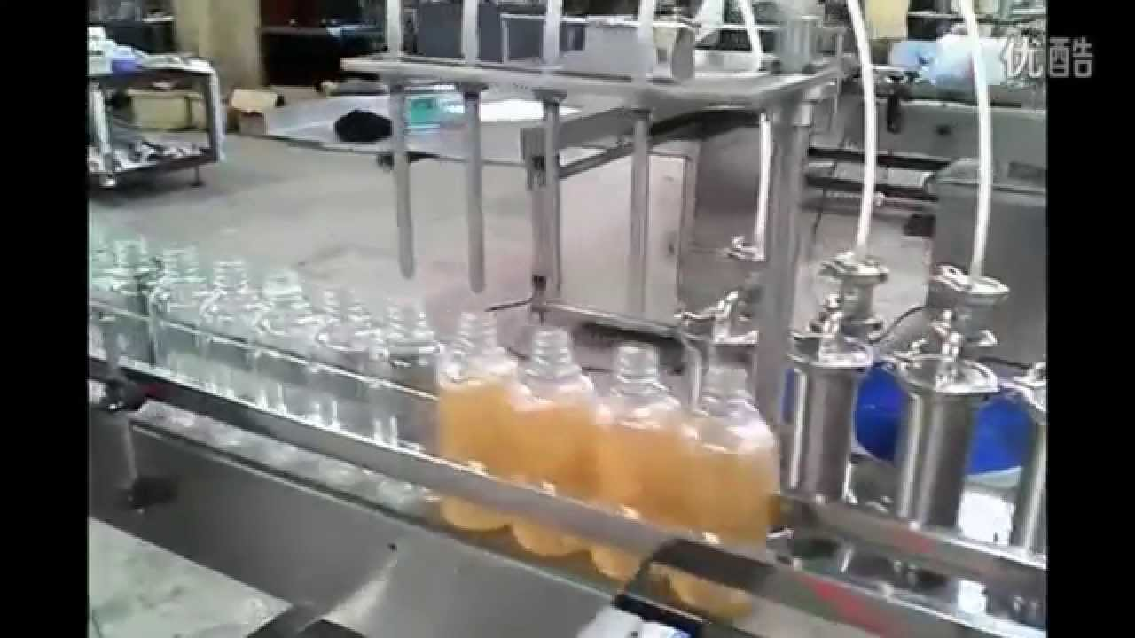 200ml Bottle Filling Capping And Labeling Machine