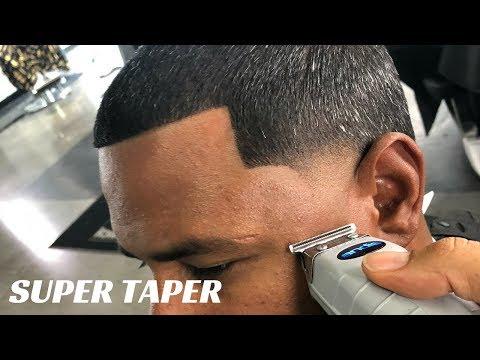 HAIRCUT TUTORIAL: SUPER TAPER BY CHUKA THE BARBER