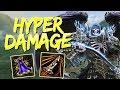 Thanatos: SAFE HYPER DAMAGE BUILD - Smite