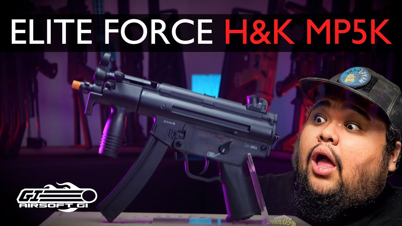 IS SMALLER BETTER?! - H&K MP5k SMG by Elite Force | Airsoft GI