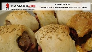 Kamado Joe Bacon Cheeseburger Bites