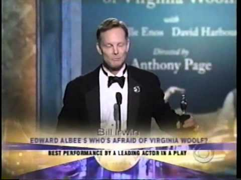 Bill Irwin wins 2005 Tony Award for Best Actor in a Play