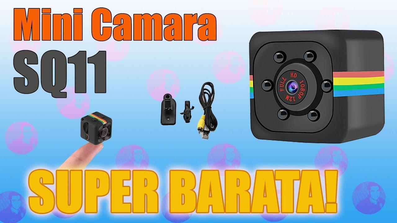 Mini Camara Sq11 Review Youtube
