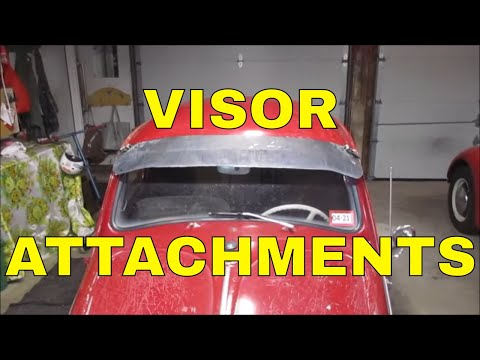 AIR COOLED VOLKSWAGEN BUG VISOR ATTACHMENT AND FINISH WORK