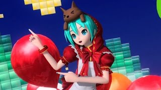 "Hatsune Miku: Project DIVA Future Tone - [PV] ""Clover♣Club"" (Romaji/English Subs)"