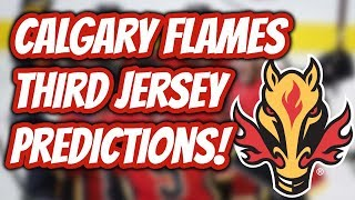 Calgary Flames Third Jersey Prediction! | Auddie James