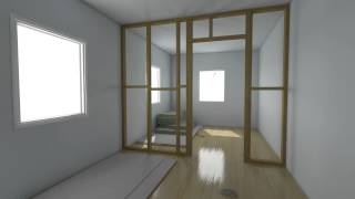 Build A Partition Wall In Less Than 30 Seconds!