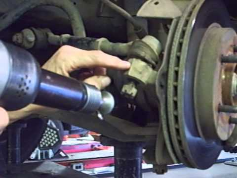Methods to break a taper loose on a tie rod