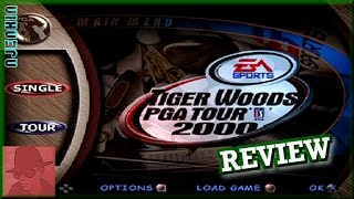 Tiger Woods PGA Tour 2000 - PS1 - with Commentary !!