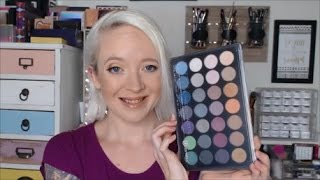 bh cosmetics foil eyes 2 shadow palette review and swatches
