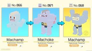 Pokémon Quest: Machop Evolved Into Machoke / Machamp   Pokémon Evolution Tips and Guides