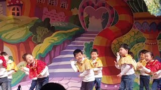 You are my sunshine and Skidamarink dance by San and friends on the Talent Show | 영어 춤을 주면서 노래해요!