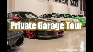 Secret Garage Tour: we visit a private garage with lots of goodies! | #garagegoals