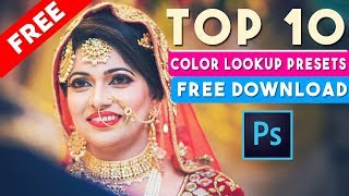 TOP-10 Color Lookup Presets in Photoshop Free DOWNLOAD NOW ⏬