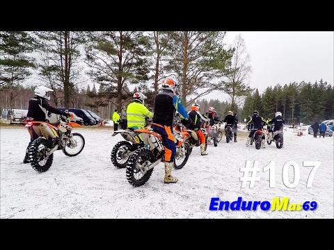 Folkare MK 5feb 2017. Gävle-Dala Enduro Cup. EnduroMas69 #107