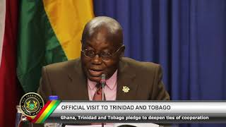 Official Visit to Trinidad & Tobago Part 2