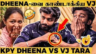 LOL🤣: KPY Dheena-வை மரண கலாய் செய்த VJ Tara | Funniest Interview Ever | Try Not To Laugh Challenge
