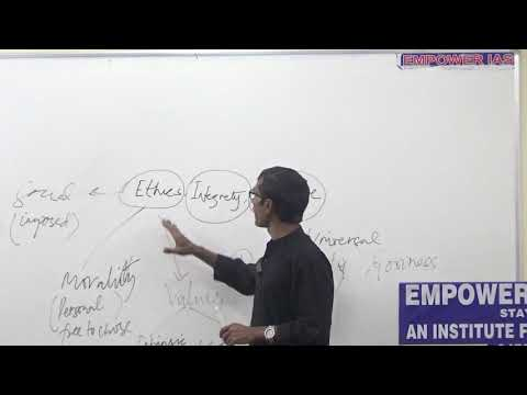 ETHICS INTRODUCTORY LECTURE BY DR RAJESH KUMAR