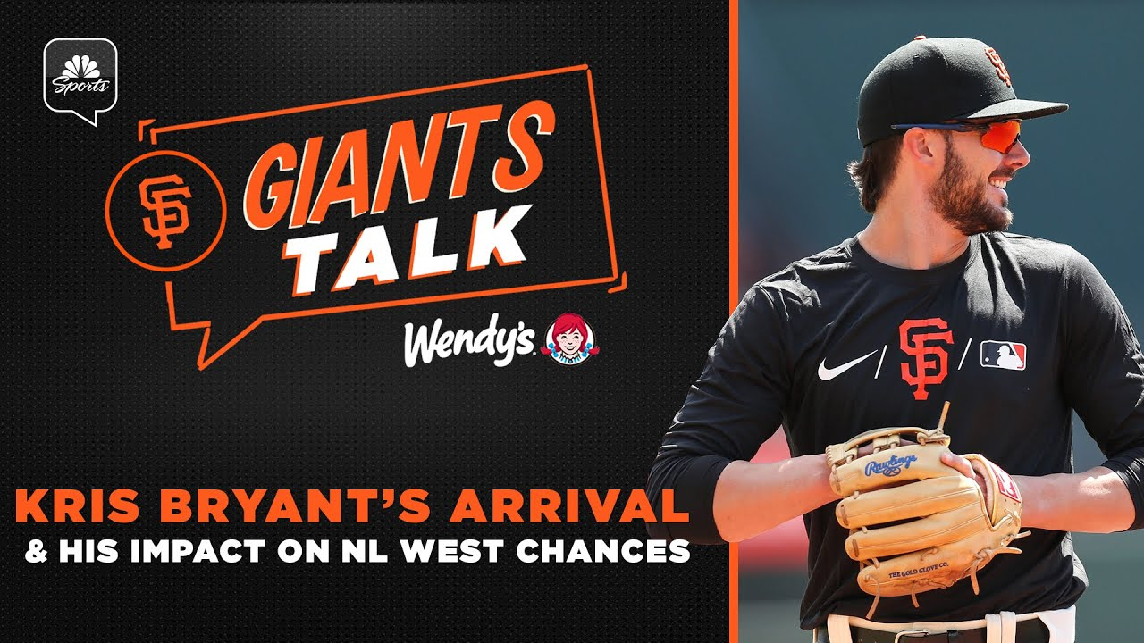 Kris Bryant has arrived! What will his impact be on the Giants' NL West chances?   Giants Talk
