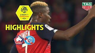 LOSC - RC Strasbourg Alsace ( 2-0 ) - Highlights - (LOSC - RCSA) / 2019-20