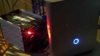 SATA HDD power and activity led