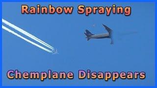 Chemplane Sprays a Rainbow Around Orbs & Disappears - Literally