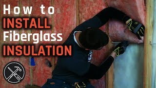 How to Install Fiberglass Insulation in Walls and Ceiling