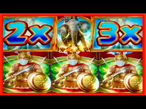 **SUPER BIG WIN!** I LOVE MULTIPLIERS! ❤️ Alexander The Great WMS Slot Machine Bonus