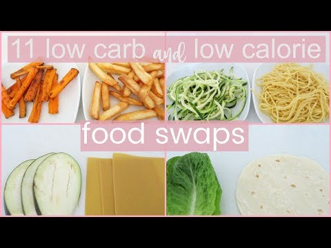 11 Low Carb & Low Calorie Weight Loss Food Swaps Every Girl Needs To Know About